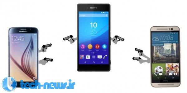 Sony Xperia Z4 vs Samsung Galaxy S6 vs HTC One M9 specs comparison a Mexican standoff