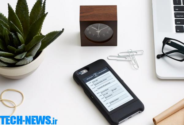 صفحه نمایشی با جوهر الکترونیکی برای آیفون 6