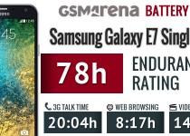 galaxy e7 battery test