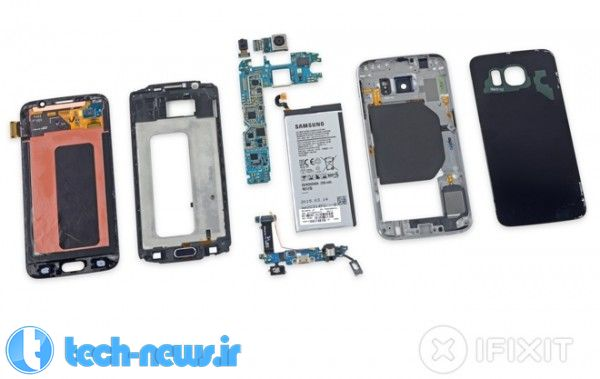 iFixit teardown finds Samsung Galaxy S6 a bit easier to repair than S6 edge 2