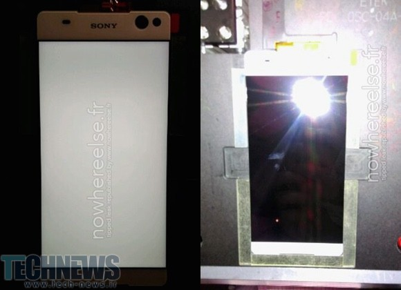 Alleged live photos of Sony Lavender front panel leak out 2