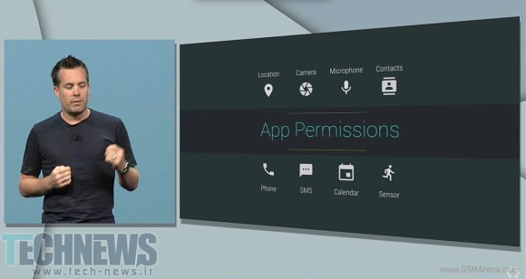Android M detailed granular permissions, mobile payments 3