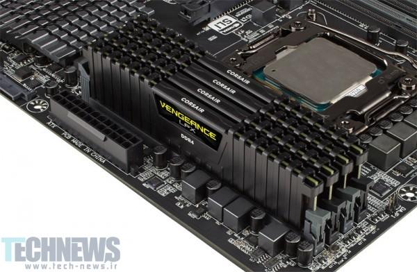 Photo of Corsair، اولین حافظههای رم 128 گیگابایتی DDR4 را معرفی کرد