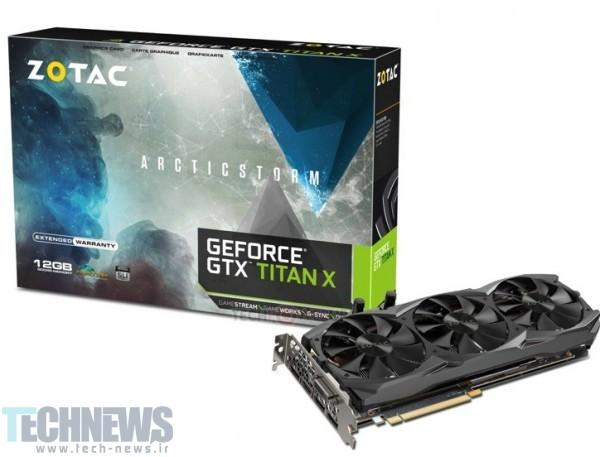 ZOTAC Unveils the GeForce GTX TITAN-X ArcticStorm Edition