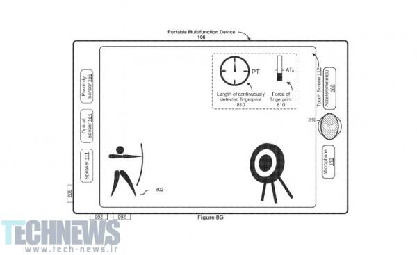 پتنت جدید اپل دکمهی Home آیفون را دگرگون میکند