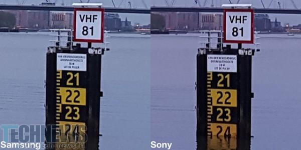 سنسورهای دوربین گلکسی اس 6 با یکدیگر تفاوت دارند!