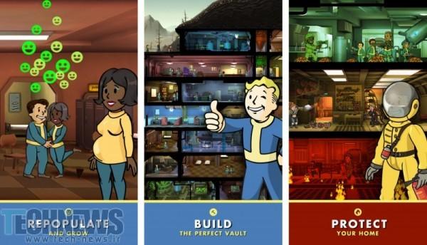 موفقیت چشمگیر بازی Fallout Shelter در iOS
