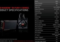 AMD Releases Radeon R9 Fury X details