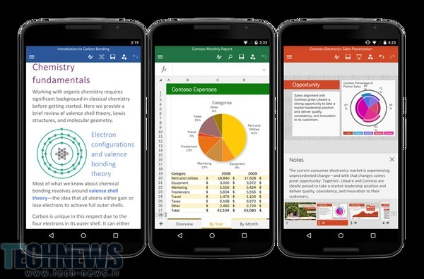 Microsoft Releases Office For Android Phone, Free To Download