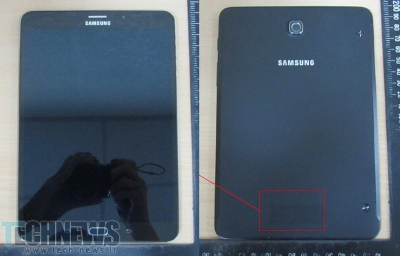 Samsung Galaxy Tab S2 8.0 gets caught in live photos