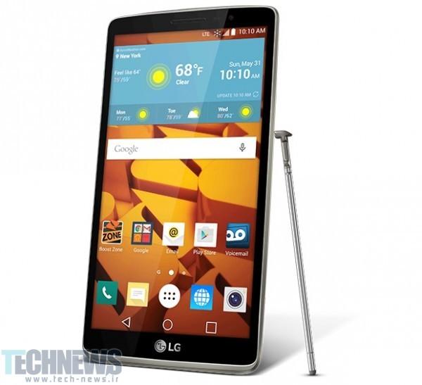 شروع عرضهی LG G4 Stylus از این هفته در اروپا