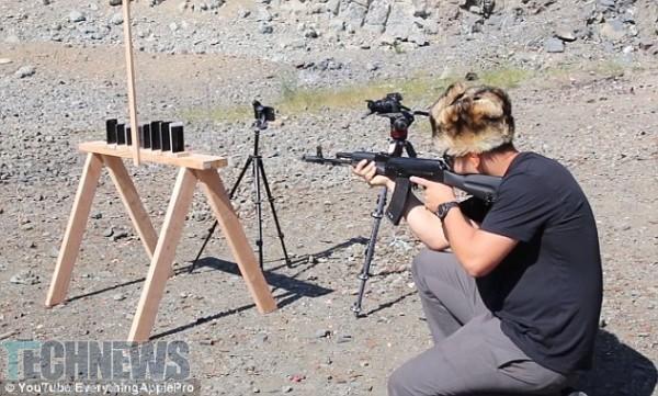 AK-74 Vs iPhones - Who Will Win