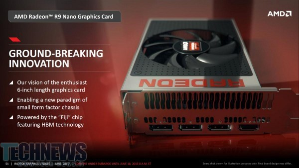 AMD Confirms Radeon R9 Nano Launching In August 3