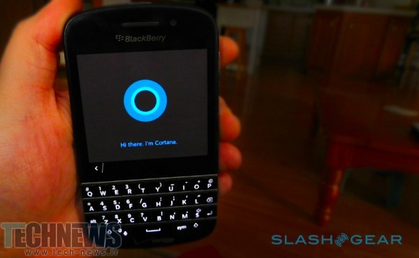 Cortana for Android leaked early, so we put it on a BlackBerry 2