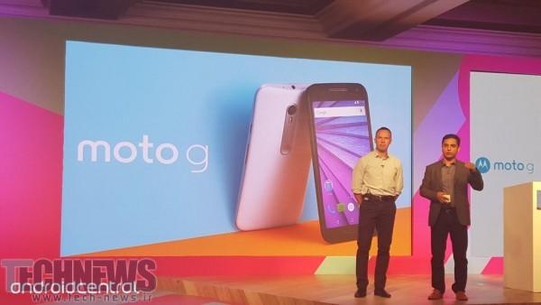 Photo of Moto G 2015 رسما معرفی شد: دوربین 13-مگاپیکسلی، صفحهنمایش 720p و بدنهی ضد آب