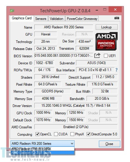 You Can Pair an R9 300 Series GPU with an R9 200 in CrossFire