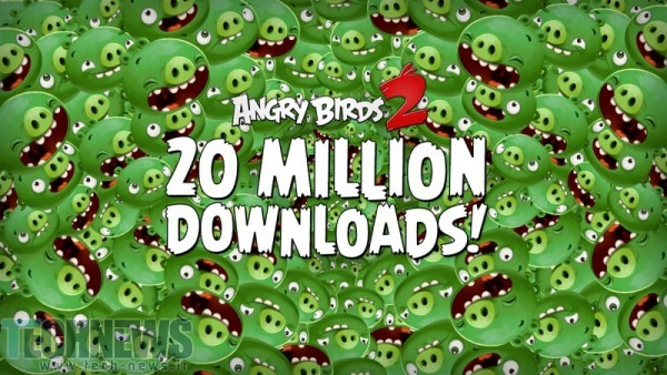 Angry Birds 2 Downloaded 20 Million Times In 1 Week
