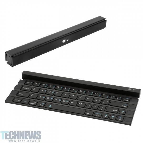 LG Develops Full-Size Keyboard For Pockets