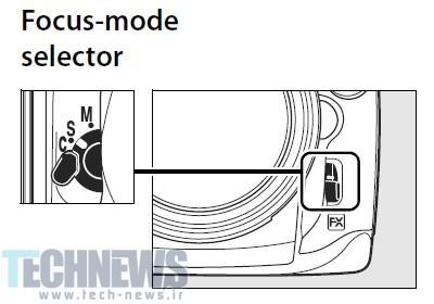 Nikon-D700-Focus-Mode-Selector