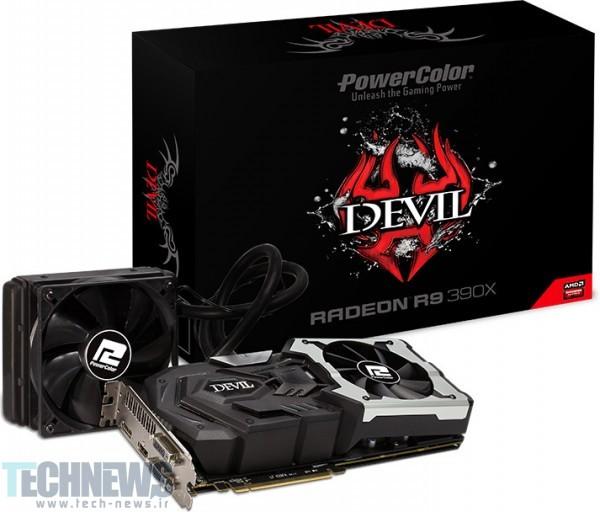 Photo of Devil R9 390X، جنگجوی 8 گیگابایتی PowerColor در دنیای گیمینگ، معرفی شد!
