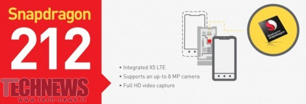 Snapdragon 412 and 212 offer small upgrades over 410 and 210 3