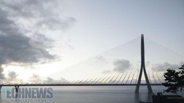 Photo of آغاز ساخت طویلترین پل نامتقارن جهان در چین تایپه با نام Danjiang