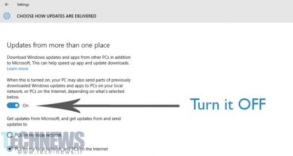 ویندوز 10 ممکن است مشغول استفاده مخفیفانه از حجم اینترنت شما باشد