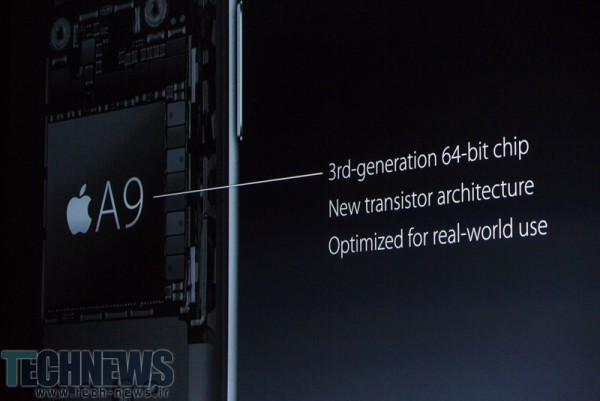 Apple A9 and A9X chipsets announced, desktop performance with an M9 co-processor 2