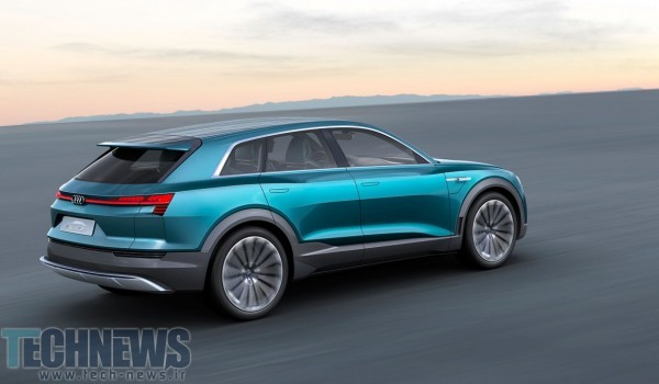 Audi's 496HP e-tron quattro concept previews 2018's all-electric SUV 2