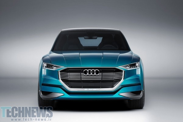 Audi's 496HP e-tron quattro concept previews 2018's all-electric SUV 3