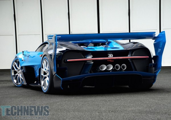 Bugatti Vision Gran Turismo Makes World Debut in Frankfurt, Signals Next Bugatti 5
