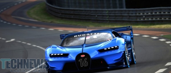 Bugatti Vision Gran Turismo Makes World Debut in Frankfurt, Signals Next Bugatti