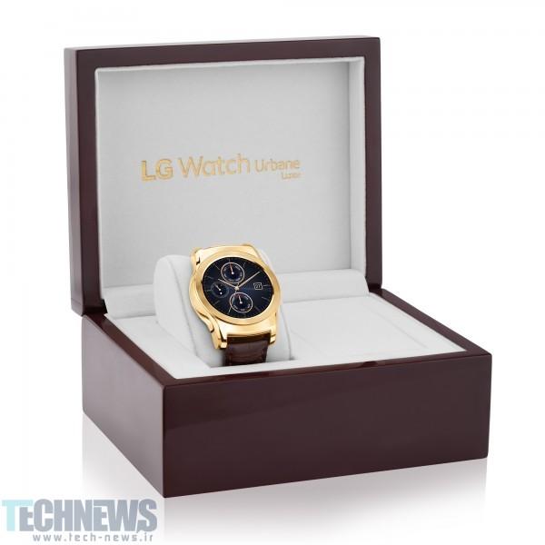 ال جی از ساعت هوشمند لوکس خود رونمایی کرد
