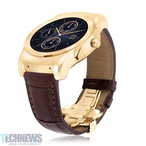Photo of ال جی از ساعت هوشمند لوکس خود رونمایی کرد