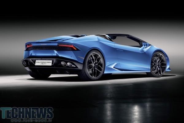 Lamborghini's Huracán LP 610-4 Spyder is 201mph of roofless glee 2