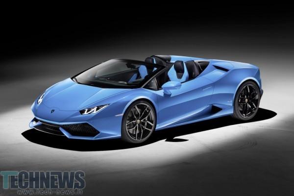 Lamborghini's Huracán LP 610-4 Spyder is 201mph of roofless glee 5