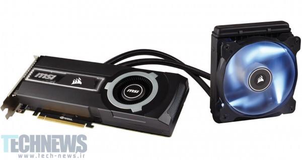 MSI and Corsair Announce GeForce GTX 980 Ti Sea Hawk Graphics Card 2