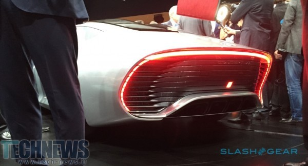 Mercedes' Intelligent Aerodynamic Automobile previews super-luxe digital age 2