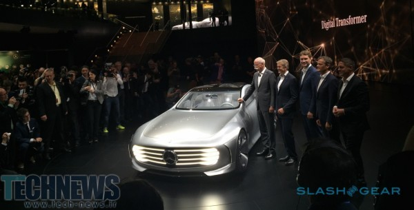 Mercedes' Intelligent Aerodynamic Automobile previews super-luxe digital age 3
