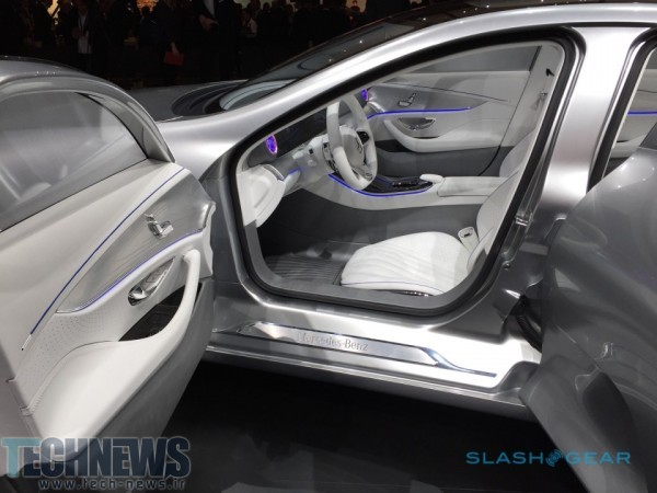 Mercedes' Intelligent Aerodynamic Automobile previews super-luxe digital age 6