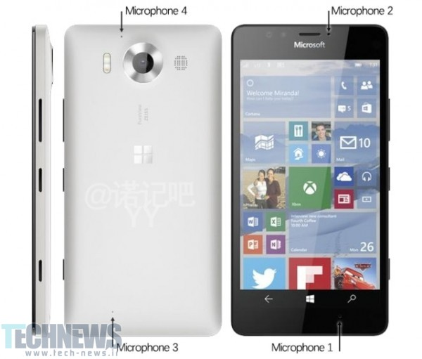 Microsoft Lumia 950 XL and Lumia 950 could be launched on October 10 - Talkman
