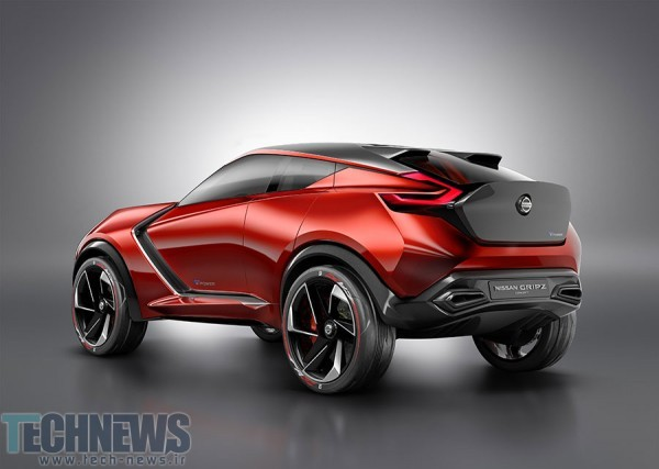 Nissan Gripz concept is a sports crossover with a Volt-like powertrain 3