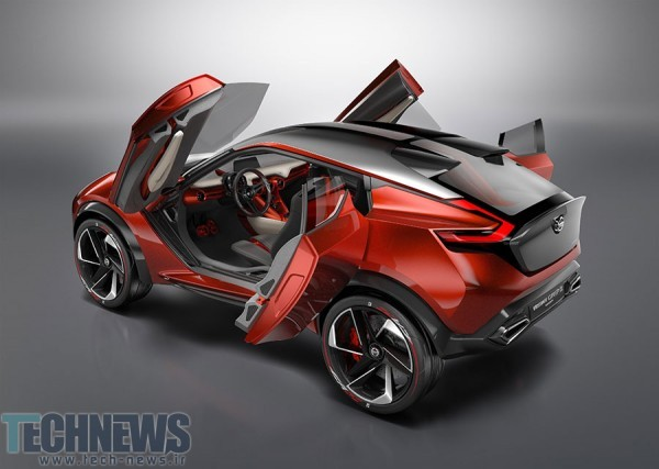 Nissan Gripz concept is a sports crossover with a Volt-like powertrain 4