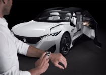 Peugeot Fractal concept car is inspired by sound 3