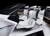 Peugeot Fractal concept car is inspired by sound 6