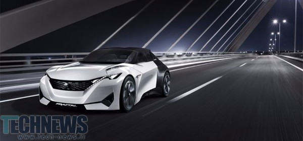 Peugeot Fractal concept car is inspired by sound