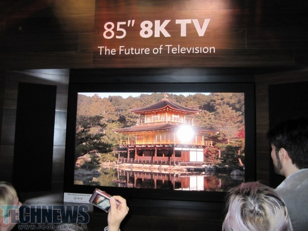 Sharp is selling the world's first 8K TV next month for $133,000