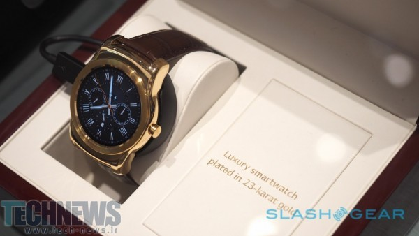 The 23-karat Watch Urbane Luxe is so fancy, even LG only has one 2