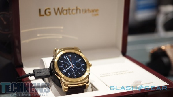 The 23-karat Watch Urbane Luxe is so fancy, even LG only has one 3