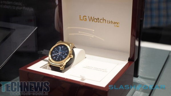 The 23-karat Watch Urbane Luxe is so fancy, even LG only has one 4